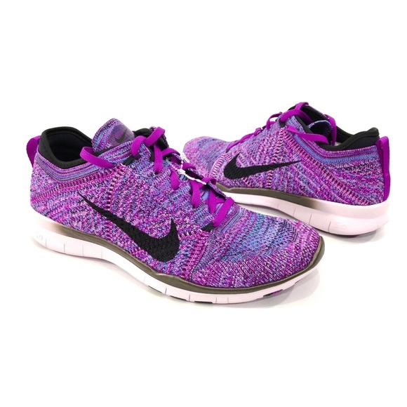 aa636dce7ded Nike Free TR Flyknit Womens Training Running Shoes